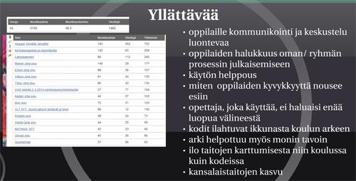 Kuvakaappaus Arja Pihlajan esityksestä http://prezi.com/8isw6x3iojnn/pihlajanvesat/